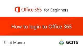 How to login to Office 365