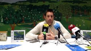 Video Rueda de prensa previa al partido contra Magia Huesca.