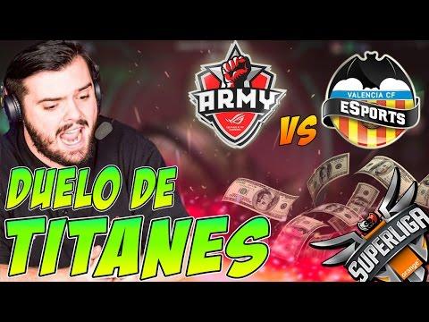 DUELO DE TITANES | ASUS vs VALENCIA | la PARTIDA MÁS LARGA!! | Ibai y Barbe