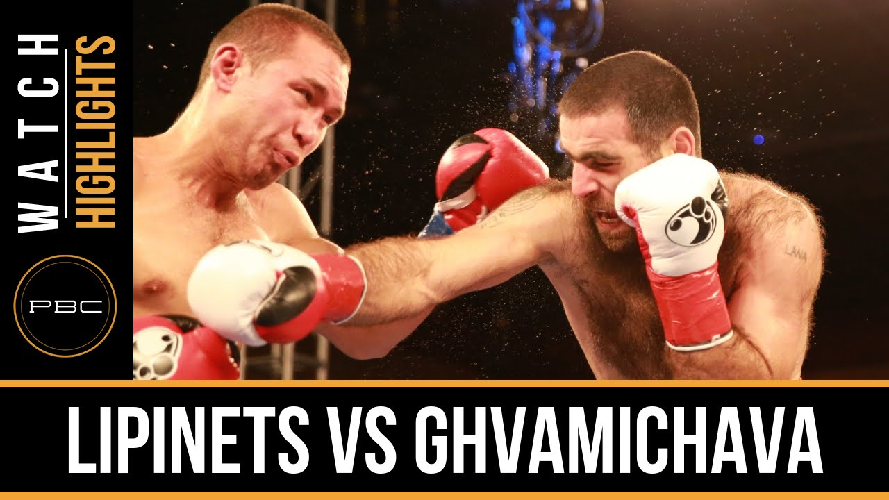 Lipinets vs Ghvamichava HIGHLIGHTS: Mar. 15, 2016 - PBC on FS1