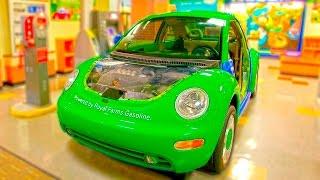 Детский Музей Открытий Игры Машины Паровоз Трактор Супер Открытия Много Игрушек Для Детей