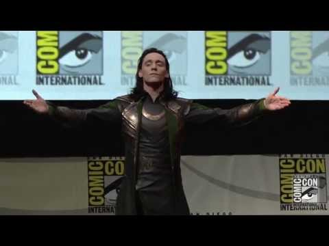 Loki at Marvel Studios' San Diego Comic-Con Panel - Official