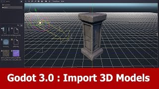 Godot Tutorial : Import 3D Models