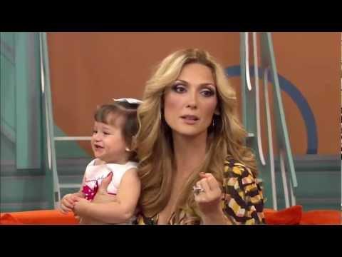 """Nora Salinas con sus hijos en """"Viva La Familia"""""""