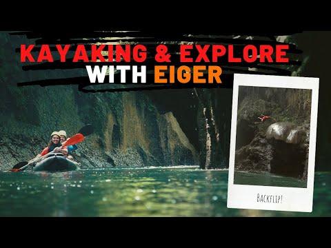 Kayaking Bersama Eiger Di Batu Karas, Dari Sungai Ke Laut