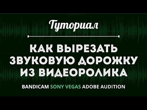 КАК ВЫРЕЗАТЬ ЗВУК ИЗ ВИДЕО в Sony Vegas