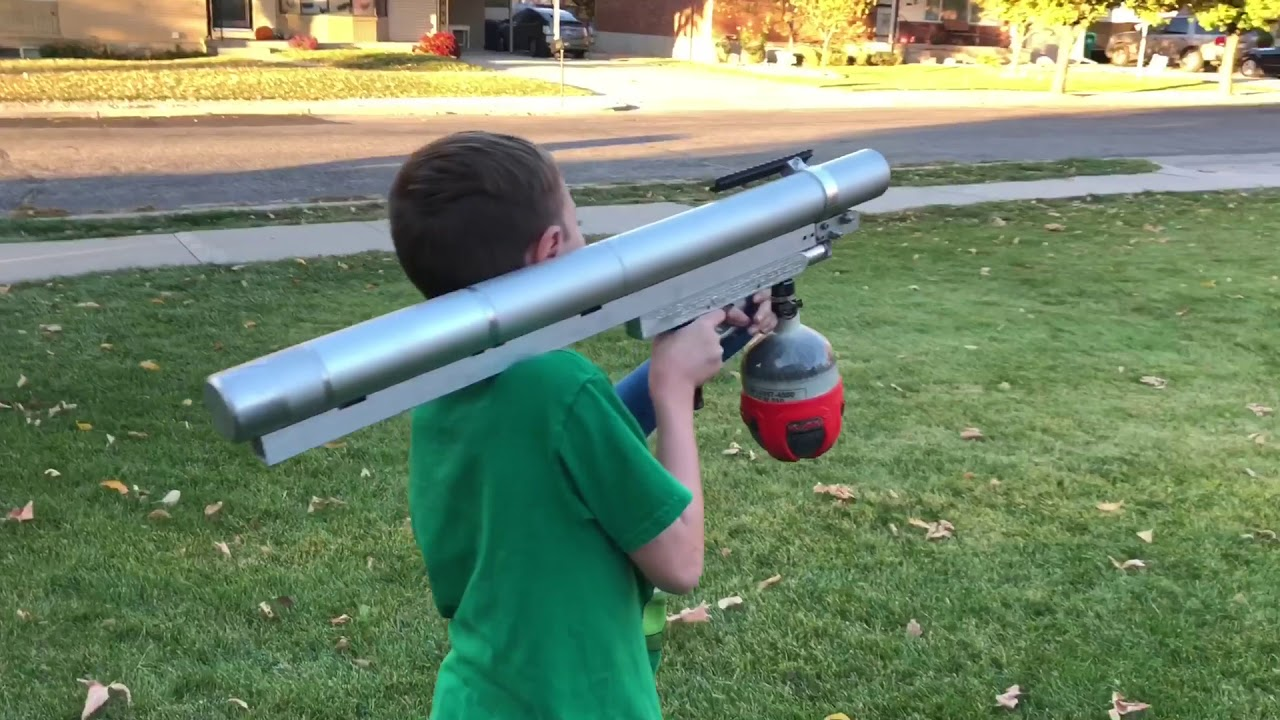how to make a bazooka gun