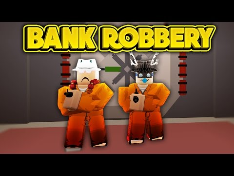 ROBBING THE BANK! (ROBLOX Jailbreak Beta)