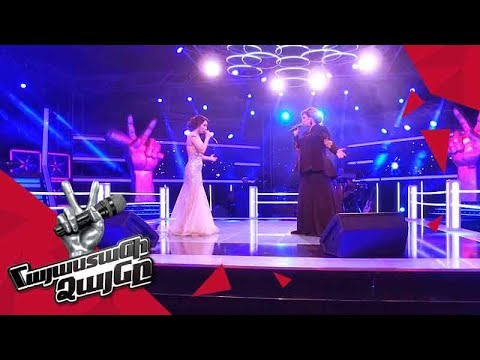 Arevik Armenakyan vs Christina Khalatova sing 'Ձյուն' - Battle – The Voice of Armenia – Season 4