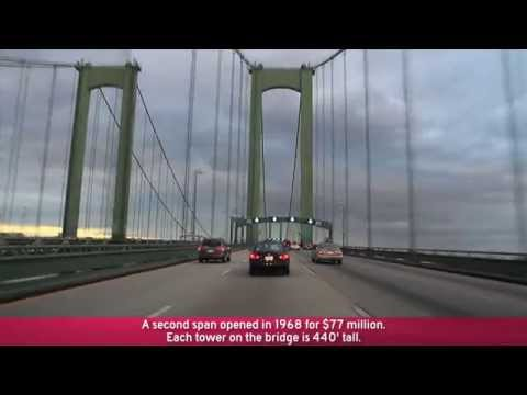 I-95 to I-295/NJTP & The Delaware Memorial Bridge (Exits 5A to 1)