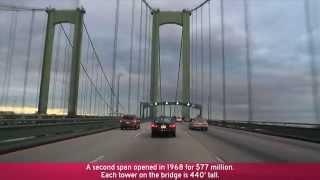 I-95 to I-295/NJTP & The Delaware Memorial Bridge (Exits 5A to 1)