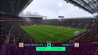 FIFA 18: Man Utd vs Stoke City