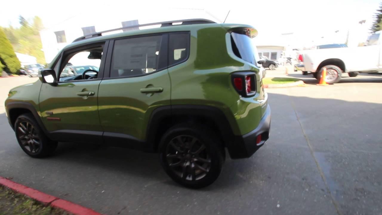 Chrysler Dodge Jeep Ram Of Seattle >> 2016 Jeep Renegade Latitude 75th Edition | Jungle Green ...