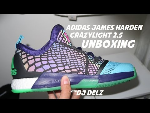 9d6c60a9 Unboxing adidas Crazylight 2.5 James Harden Allstar Xeno Sneaker With Dj  Delz #adidashoops