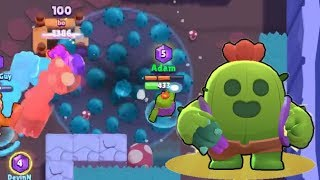 Brawl Stars Learning to Play spike! Su0026G Spike Gamepaly.