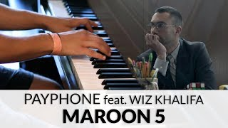 Maroon 5 - Payphone feat. Wiz Khalifa (HQ Piano Cover)