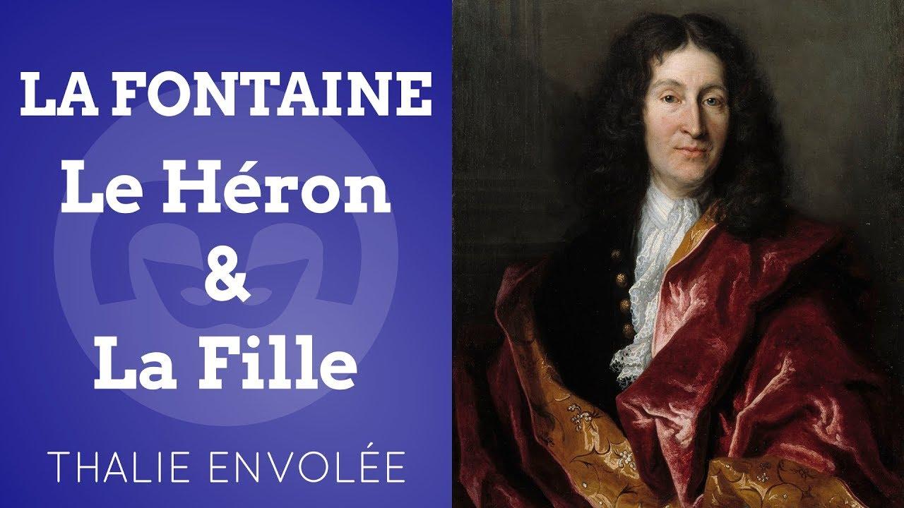Le Heron La Fille Jean De La Fontaine Thalie Envolee Hd Youtube