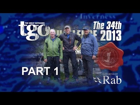 The 34th Rab TGO Challenge 2013 -  Video and route review -