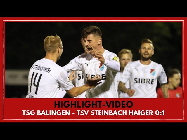 TSG Balingen - TSV Steinbach Haiger 0:1 (Regionalliga Südwest I #BALTSV )