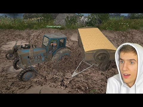 ПОДНИМАЕМ КОЛХОЗ С КОЛЕН - FARMING SIMULATOR 2017