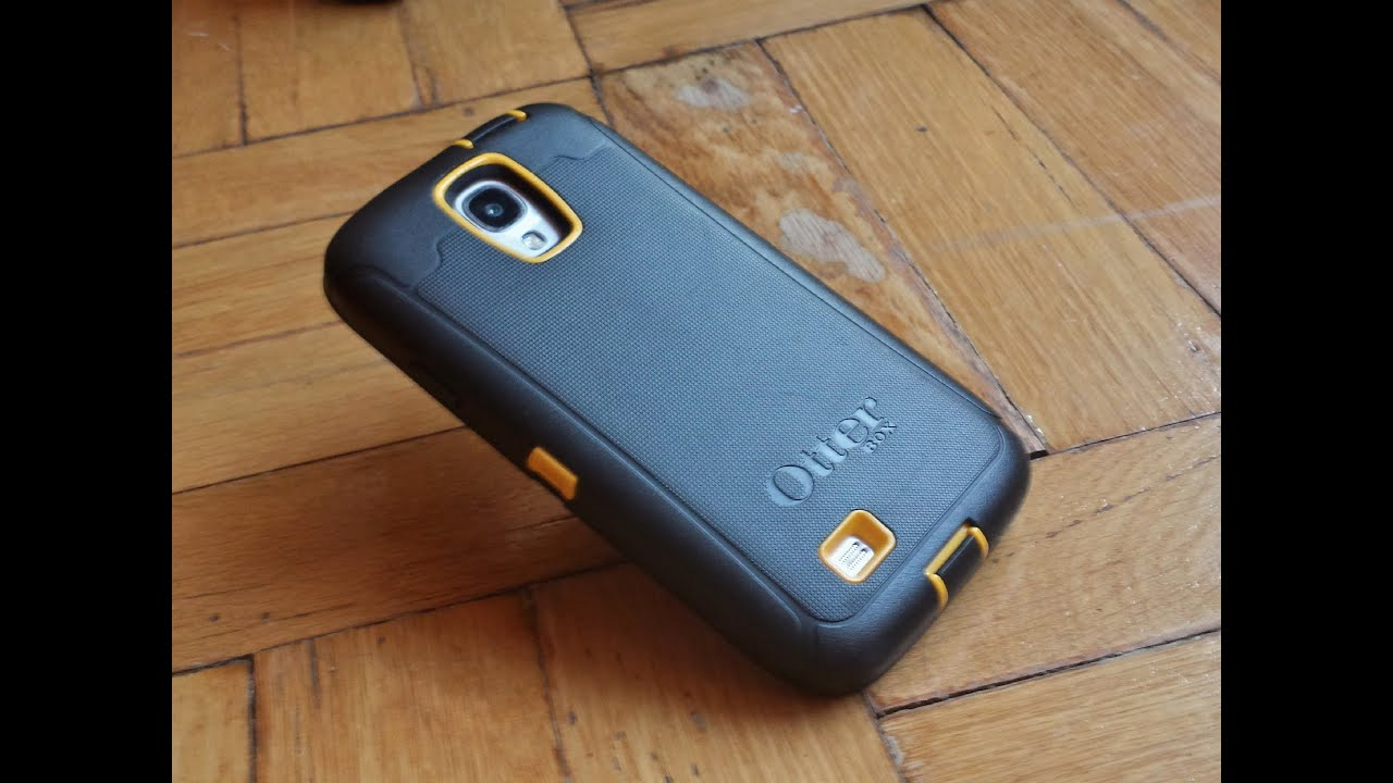 Otterbox Defender Drop Test for Samsung Galaxy S4 - YouTube