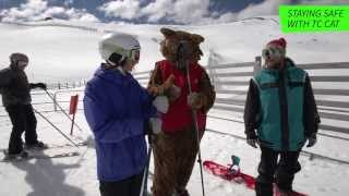 tc cat chairlift safety video treble cone ski area wanaka nz