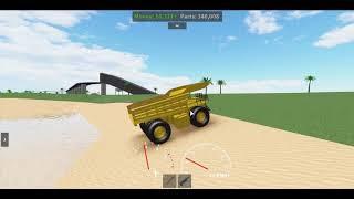Roblox Car Crushers 2 Mining Dumper Truck