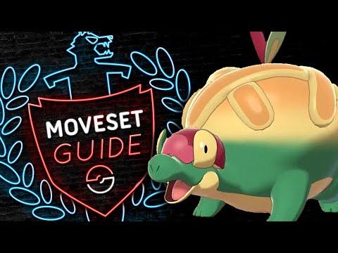 How to use APPLETUN! GIGANTAMAX Appletun Moveset Guide! Pokemon Sword and Shield! ⚔️🛡️