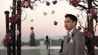 Costa Mesa Wedding Video | Same Day Edit | Joanna & William