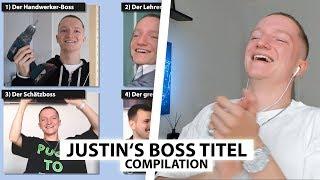 Justin reagiert auf alle seine Boss Titel.. | Reaktion