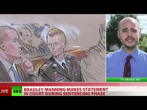 Manning speaks: 'I believed I was going to help people, not hurt people'
