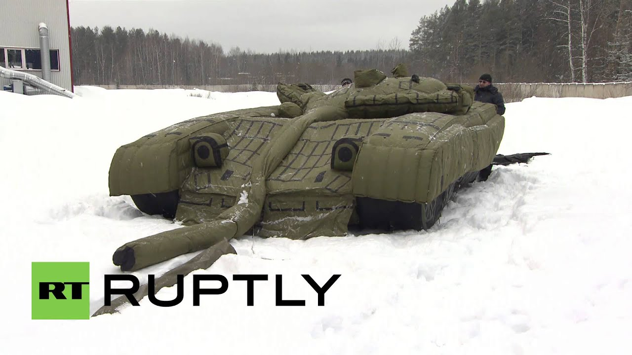 Russia Dummy Tanks For The Russian Army Fool Enemies