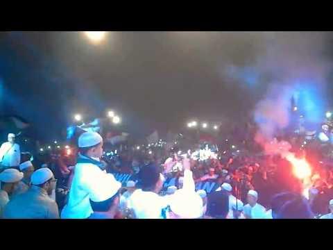Habib mahdi tularkan semangat bershalawat!! Jawa Barat Bershalawat 2018 ||Qul Qul Qul Lailahaillah