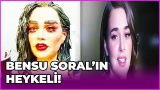 Bensu Soral'ın Heykeli Sosyal Medyada Tepki Gördü | GEL KONUŞALIM