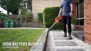 HUSQVARNA 120iB - Battery Powered Leaf Blower