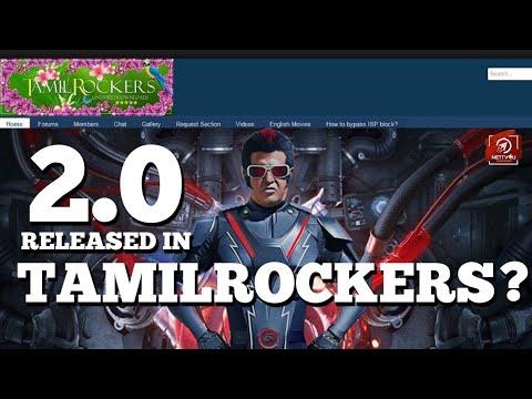 Superstar's 2.0 released in Tamilrockers?! Rajinikanth   Shankar   Akshay Kumar