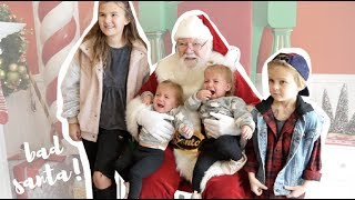 BABIES FIRST TIME SANTA CLAUSE SCARE