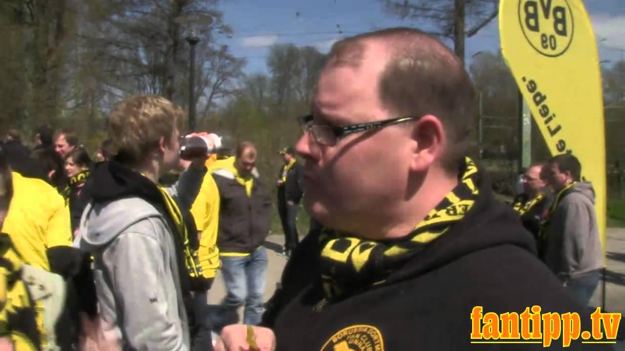 Fantipp Borussia Dortmund - Mainz 05 2:0 - mit den besten Fans der Welt