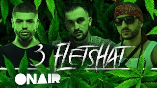 Noizy ft. OverLord & NiiL B - 3 Fletshat (Official Lyrics Video) Scarecrow Beats