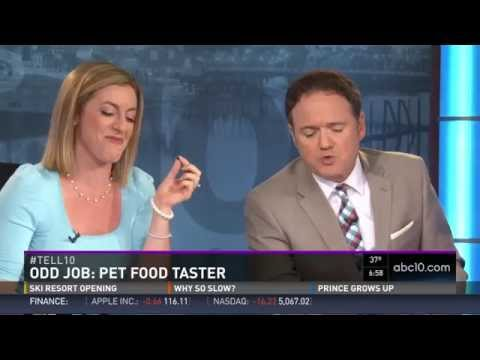 Odd Jobs: Pet Food Taster