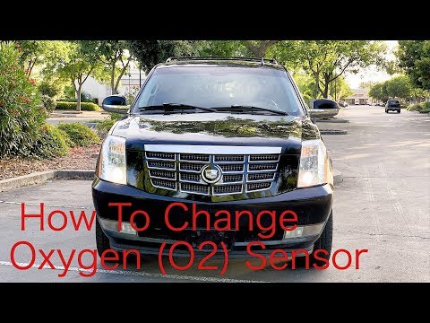 How to Replace Oxygen Sensor on Cadillac Escalade