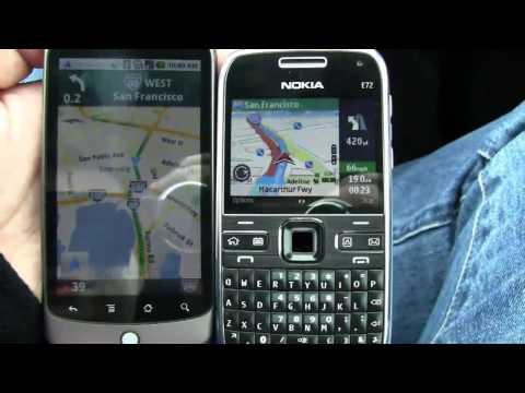 Google Navigation Vs Nokia Ovi Maps - Dogfight! Pt 1