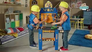 Dětský pracovní stůl Bořek stavitel Smoby se sklád