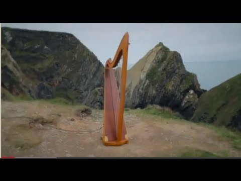 wind harp aeolian harp on irish coast you can review music of wind