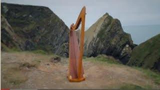 Wind Harp - Aeolian Harp on the Irish coast