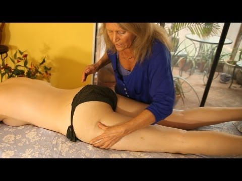 HD Buttocks Massage How To Massage Therapy Techniques Gluteus Maximus or Butt by Athena Jezik