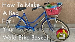 How to Make a Bag for Your Wald Bike Basket