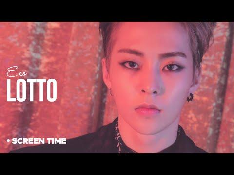 EXO - Lotto : Screen Time Distribution