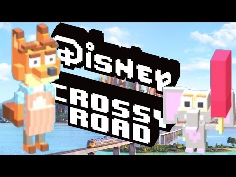 how to unlock ZOOTOPIA Secret Characters in DISNEY CROSSY ROAD | iOS, Android