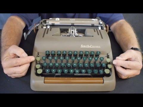 Typewriter Video Series - Episode 43: Smith-Corona Silent